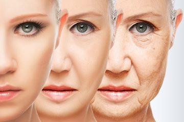 גיל המעבר והזדקנות העור