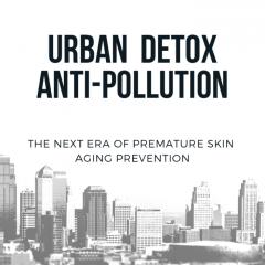Urban Detox Anti-Pollution מושג חדש בקוסמטיקה